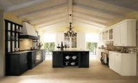 Черна и бяла кухня