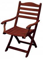 Сгъваем стол от евкалипт 138-2609
