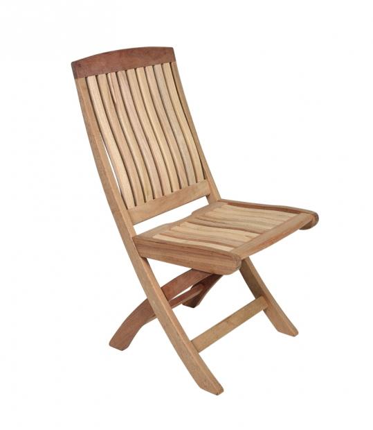 Сгъваем стол от махагон без подлакътници 76-2609