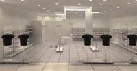 Интериор дизайн на магазин за дрехи