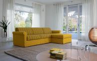Класически италиански ъглов диван Zeus