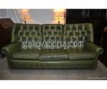 зелени Диван Chesterfield по поръчка