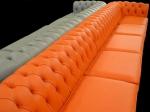 производители оранжеви луксозни Дивани Chesterfield