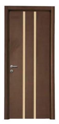Дървени врати с ламинат и стъкло